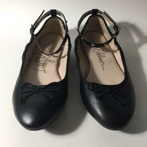 Libby Edelman Size 10 Clarissa Black Flats